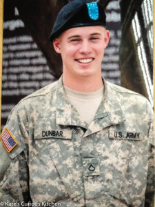 PFC. Dunbar United States Army